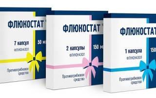Флюкостат: инструкция по применению при молочнице