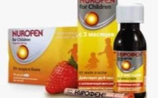 Нурофен во время беременности