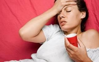 Причины головных болей перед и во время месячных