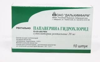 Папаверина гидрохлорид при беременности