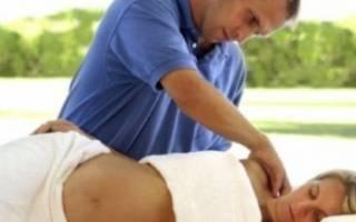 Массаж при беременности: показания и противопоказания