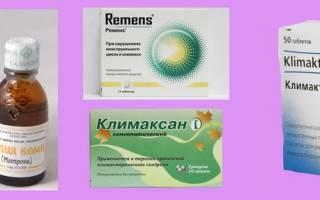 Гомеопатия при климаксе: список препаратов