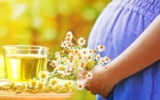Народные средства из ромашки при беременности