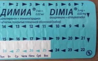 Димиа: инструкция по применению контрацептива